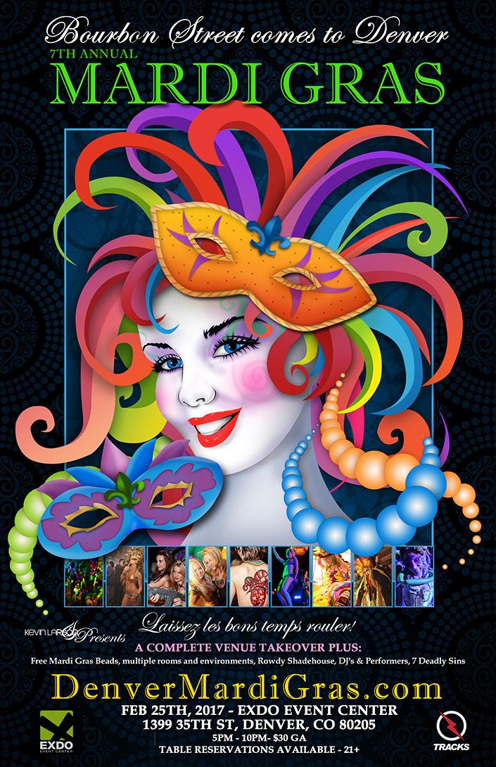 Mardi Gras Seven Deadly Sins