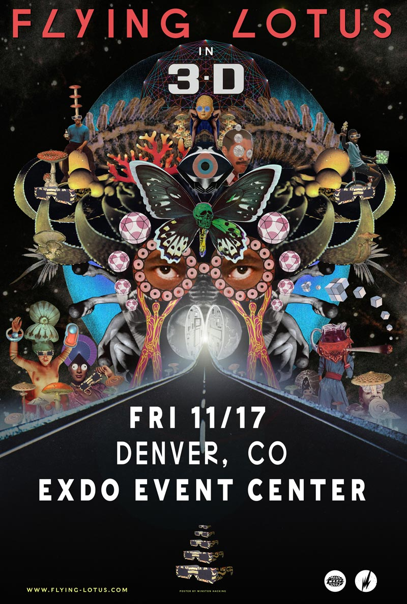 Flying Lotus 3D Tour
