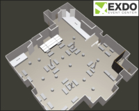 EXDO Tasting Event Layout
